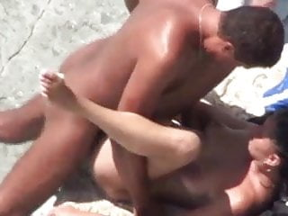 Threesome on the shore...