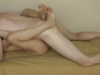 Plowing sis pussy and filled with cream