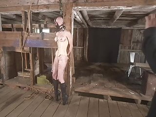 Slave Whipping Humiliation vid: Bastinado for pet