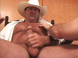 Big Redneck Wanking Dick Cowboy Webcam Hairy Bedroom