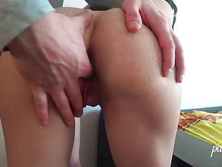 horny milf Hard Suck Penis and Ass Pound – Anus Creampie in Lingerie