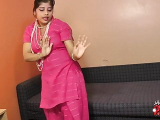 Indian hot babe rupali sucking her dildo like...