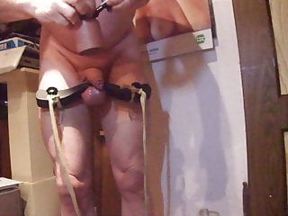 Punishment Slave humbler balls Joe: for with Stretching