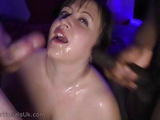 Uk bbw huge tits bukkake...