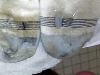 Dirty Little Socks Cum