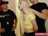 Young escort whore Kenzie Reeves tied up and drilled hard