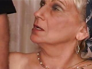 Hardcore Fingering Spanking video: Grandma Takes