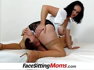 Old vagina eating with big juggs cougar Danielle