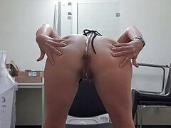 Bondage office break