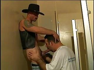 Cowboy bear toilet...