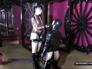 Caning and Whipping a Slave