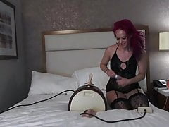 June's First Sybian Ride