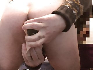 Double anal with my dildos and cool ejac...