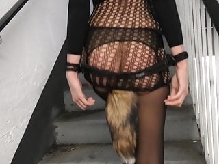 Miley weasel submissive a parking lot...