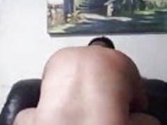 Brazilian Bear Sucking and Getting Fucked