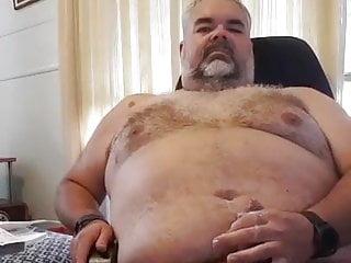 Chubby bear cum a lot...