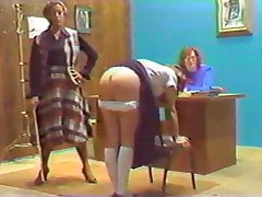 Caning Of A Youthful Lady