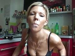 thamina smoking in heels and black stockingsPorn Videos