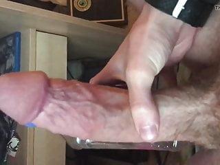Rubbing dick...