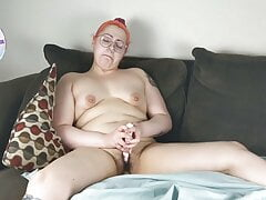 Casual Couch Cumming with Alt Milf Gwenna Plum