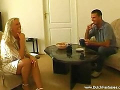 Dutch Blonde Babe Getting Fucked – Solid Experience