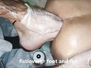 fistlovergr foot and fist