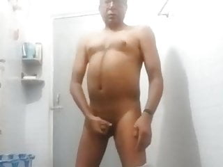Gay full body and big dick showing...