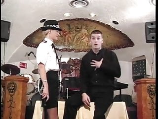 British police woman spanked...