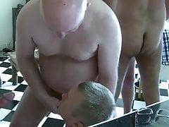 Hot white dad fucking