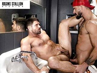 Beau Butler Gets A Good Fuck In Truck Stop Bathroom