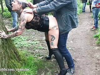 mydirtyhobby -mature german publicly creampied by random guyPorn Videos