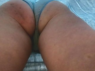 Quality view under the skirt the office...