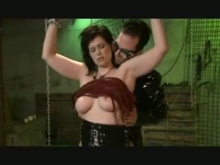 Chained Spanked And Fingered Wasteland Femdom Spanked And
