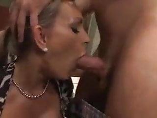 Stepmom tittyfuck deepthroat hard fuck...