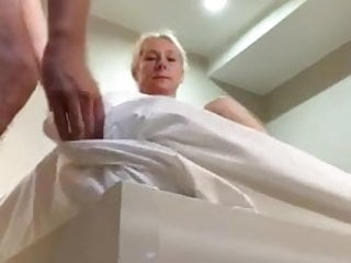 Got caught by the hotel maid