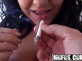 Mofos - Latina Sex Tapes - Miya Monroe - Sucking And Smoking