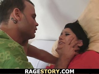 Punished wife takes hardcore mouth and pussy drilling...