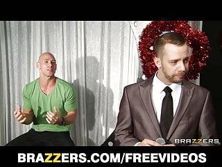 Big-tit MILF Jennifer Best sucks dick on a dating show