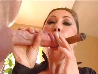 Asian Milf KD – Cigar Cock and Cum