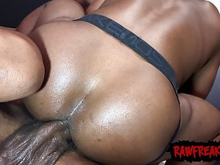 Mack Daddy and J Kream Double Penetrate Marii Millz Bareback