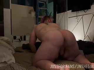 White Fat Ass Fucked by Black Big Dick 2