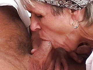 73 year old farmer's mom needs rough sex
