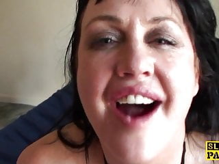 Busty bdsm brit made to squirt...