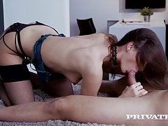 Private.com - Anal Loving Brunette Aruna Aghora Rides A Dick