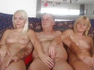 BF And Lover And Now not Their Daughter – Cam Display