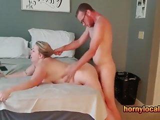 super huge tit threesome
