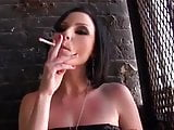 Veruca James smoking