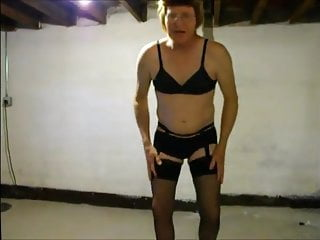 Sissyeric black lace lingerie...