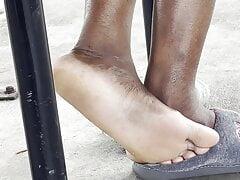 African ebony shoeplay