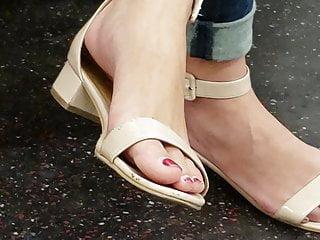 Candid asian feet 2